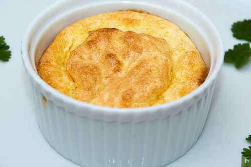 Photo of Garlic and Rosemary Soufflé