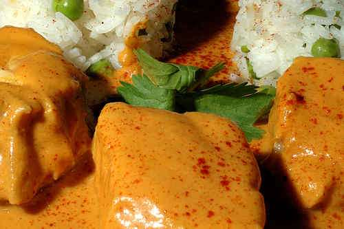 Photo of Orange Curry of Halibut