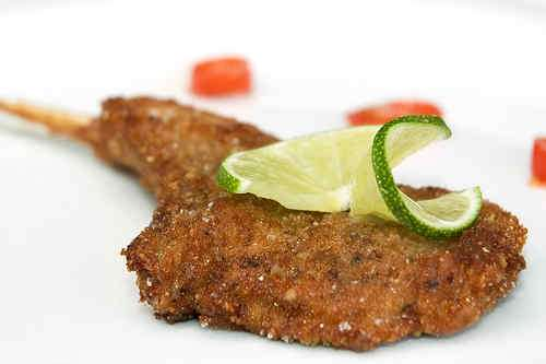 Black-Pepper-and-Lime-Breaded Lamb Chops | Steffen's Dinners - Recipes ...