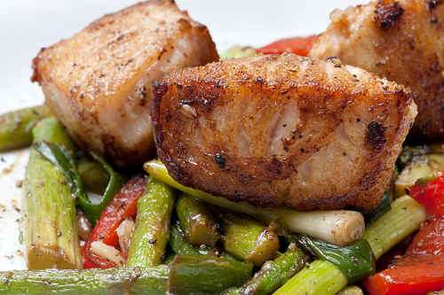 Photo of Stir-Fry of Fish and Vegetables