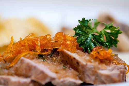 Photo of Pork Tenderloin in Orange Sauce
