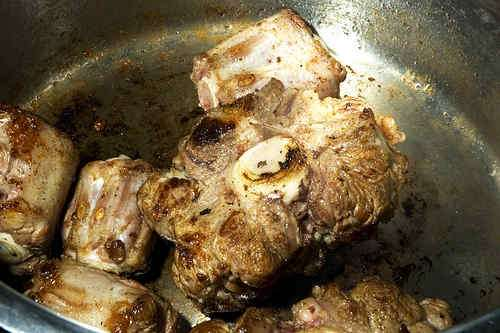 Photo of browned oxtail