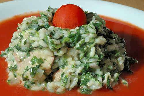 Photo of Chicken and Spinach Risotto