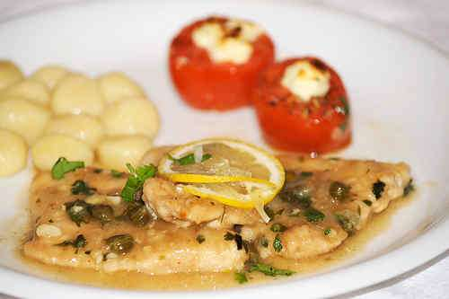 Photo of Turkey Piccata